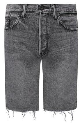 Женские джинсовые шорты MOUSSY серого цвета, арт. 025DAC11-1120 | Фото 1