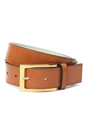 Женский кожаный ремень MARNI коричневого цвета, арт. CNM00073Q0/P3805   Фото 1