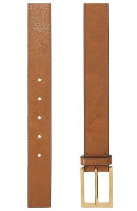 Женский кожаный ремень MARNI коричневого цвета, арт. CNM00073Q0/P3805   Фото 2
