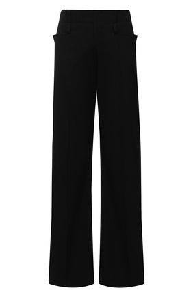 Женские шерстяные брюки CHLOÉ черного цвета, арт. CHC20WPA16066   Фото 1