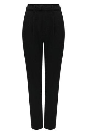 Женские брюки из хлопка и вискозы PAIGE черного цвета, арт. 6451G35-2959 | Фото 1