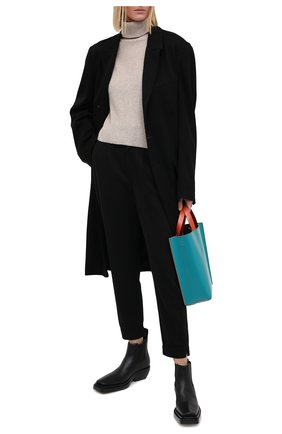 Женские брюки из хлопка и вискозы PAIGE черного цвета, арт. 6451G35-2959 | Фото 2