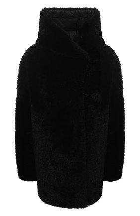 Женская шуба из овчины HERNO черного цвета, арт. PL0126D/18120 | Фото 1