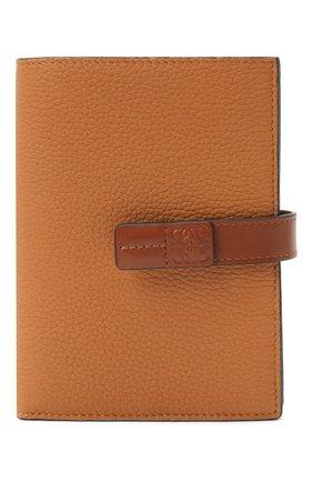 Женские кожаный кошелек LOEWE коричневого цвета, арт. 124.12.S87   Фото 1
