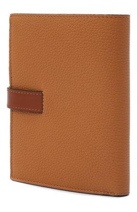 Женские кожаный кошелек LOEWE коричневого цвета, арт. 124.12.S87   Фото 2