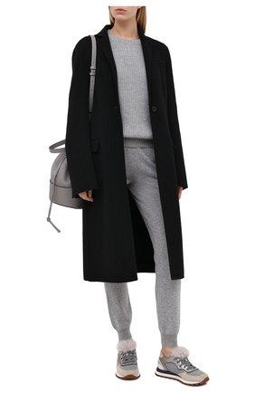 Женские кашемировые джоггеры FTC серого цвета, арт. 770-0941   Фото 2