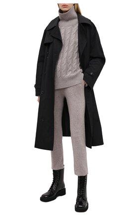 Женские кашемировые джоггеры FTC светло-коричневого цвета, арт. 770-0941   Фото 2