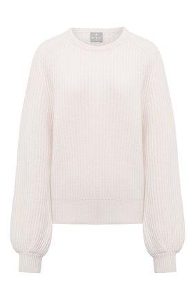 Женский кашемировый свитер FTC белого цвета, арт. 810-0070 | Фото 1