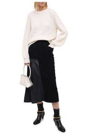 Женский кашемировый свитер FTC белого цвета, арт. 810-0070 | Фото 2