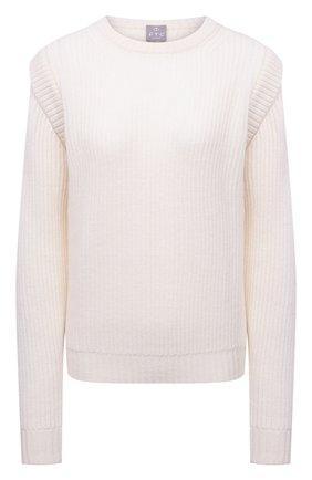 Женский кашемировый свитер FTC белого цвета, арт. 810-0100 | Фото 1