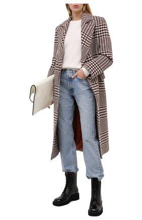 Женский кашемировый свитер FTC белого цвета, арт. 810-0100 | Фото 2