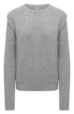 Женский кашемировый свитер FTC серого цвета, арт. 810-0100 | Фото 1