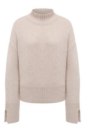 Женский кашемировый свитер FTC бежевого цвета, арт. 810-0250   Фото 1