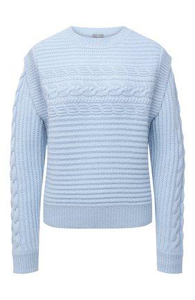 Женский кашемировый свитер FTC голубого цвета, арт. 810-0320   Фото 1