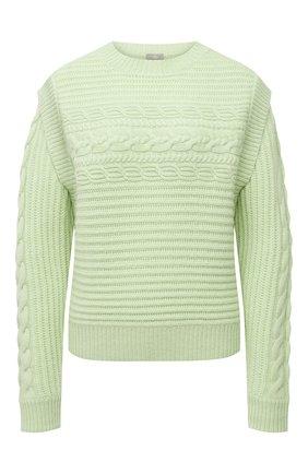 Женский кашемировый свитер FTC зеленого цвета, арт. 810-0320   Фото 1