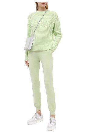 Женский кашемировый свитер FTC зеленого цвета, арт. 810-0320   Фото 2