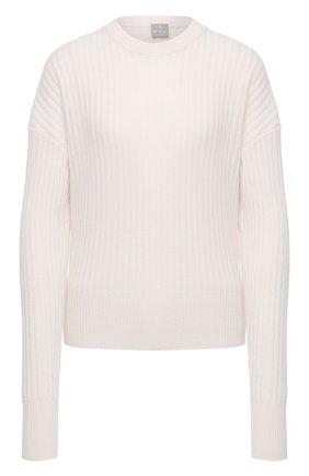 Женский кашемировый свитер FTC белого цвета, арт. 810-0480 | Фото 1