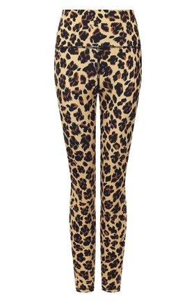 Женские леггинсы MSGM леопардового цвета, арт. 2945MDP14 207722 | Фото 1