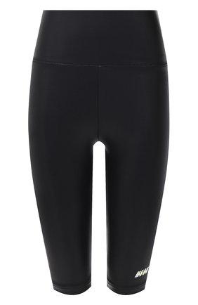 Женские шорты MSGM черного цвета, арт. 2945MDB01 207703 | Фото 1