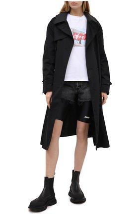 Женские шорты MSGM черного цвета, арт. 2945MDB01 207703 | Фото 2