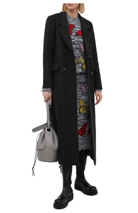 Женская юбка MSGM разноцветного цвета, арт. 2942MDD212 207952 | Фото 2