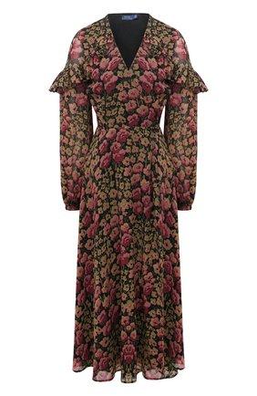 Женское платье POLO RALPH LAUREN разноцветного цвета, арт. 211814338 | Фото 1