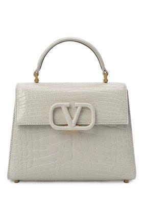 Женская сумка valentino garavani vsling VALENTINO светло-серого цвета, арт. UW0B0F53/XDE/AMIS | Фото 1