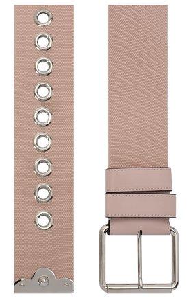 Женский текстильный ремень REDVALENTINO светло-розового цвета, арт. UQ0T0B08/FFG   Фото 2