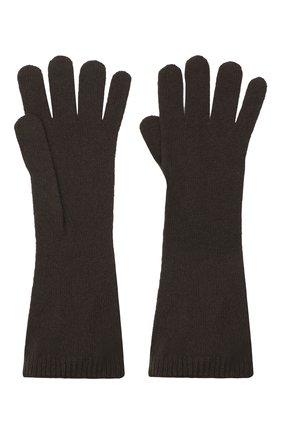 Женские кашемировые перчатки RALPH LAUREN коричневого цвета, арт. 290840294 | Фото 2