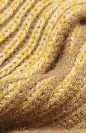 Мужские кашемировый шарф LORO PIANA желтого цвета, арт. FAL4379 | Фото 2