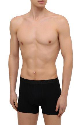Мужские шерстяные боксеры NORVEG черного цвета, арт. 14SM006RU-002 | Фото 2