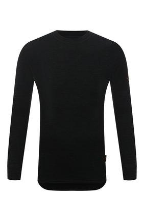 Мужская лонгслив NORVEG черного цвета, арт. 3U1RLRU-002 | Фото 1