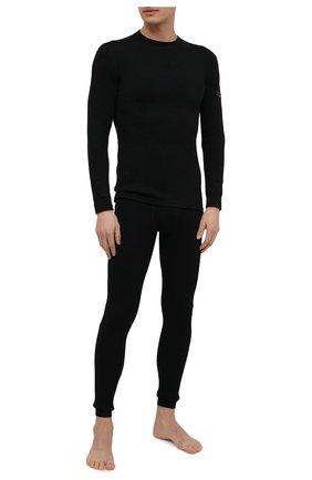 Мужская лонгслив NORVEG черного цвета, арт. 3U1RLRU-002 | Фото 2