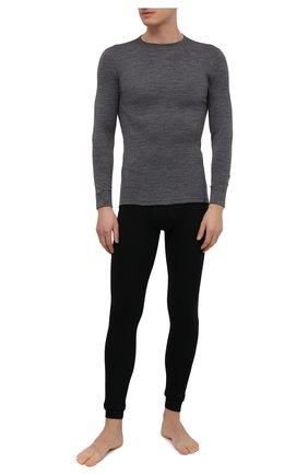 Мужские шерстяные кальсоны NORVEG черного цвета, арт. 14CCM003RU-002 | Фото 2