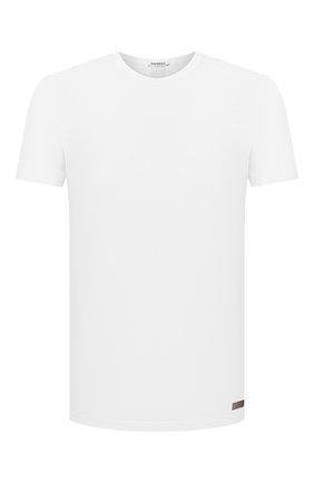 Мужская хлопковая футболка DIRK BIKKEMBERGS белого цвета, арт. VBKB04877 | Фото 1