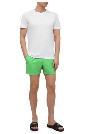 Мужская хлопковая футболка DIRK BIKKEMBERGS белого цвета, арт. VBKB04877 | Фото 2