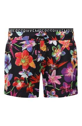 Мужские плавки-шорты DIRK BIKKEMBERGS разноцветного цвета, арт. VBKB04887 | Фото 1