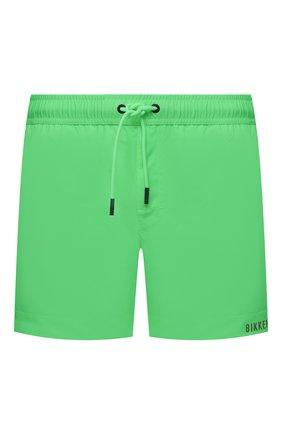 Мужские плавки-шорты DIRK BIKKEMBERGS зеленого цвета, арт. VBKB04926   Фото 1