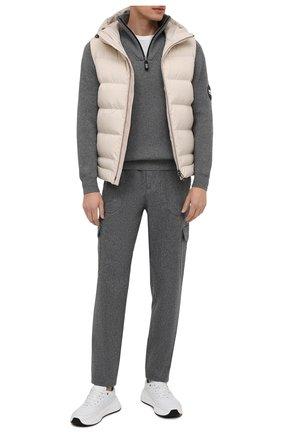 Шерстяные брюки-карго | Фото №2
