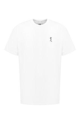Мужская хлопковая футболка RELIGION белого цвета, арт. MCPPLN03 | Фото 1