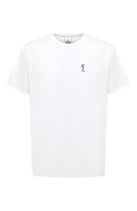 Мужская хлопковая футболка RELIGION белого цвета, арт. MCPPLN96 | Фото 1