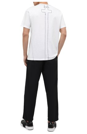 Мужская хлопковая футболка RELIGION белого цвета, арт. MCPPLN96 | Фото 2