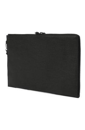 Мужская кожаный футляр для документов BALENCIAGA черного цвета, арт. 640114/15Y07 | Фото 2