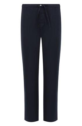 Мужские хлопковые домашние брюки ROBERTO RICETTI синего цвета, арт. PANTAPA PIGIAMA/LX2504 | Фото 1