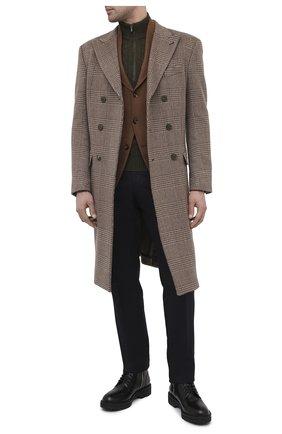 Мужской кашемировый пиджак LORO PIANA коричневого цвета, арт. FAL4276 | Фото 2