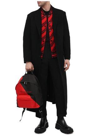Мужской текстильный рюкзак GIVENCHY красного цвета, арт. BK500JK10C | Фото 2