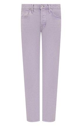 Мужские джинсы TOM FORD сиреневого цвета, арт. BVJ32/TFD002 | Фото 1