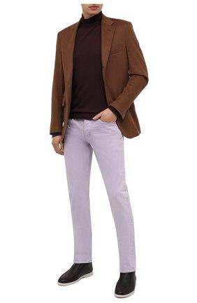 Мужские джинсы TOM FORD сиреневого цвета, арт. BVJ32/TFD002 | Фото 2