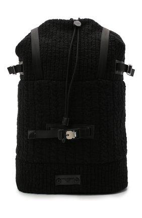 Мужской текстильный рюкзак DOLCE & GABBANA черного цвета, арт. BM1904/AW911 | Фото 1
