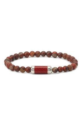 Мужской браслет TATEOSSIAN красного цвета, арт. BR1220 | Фото 1